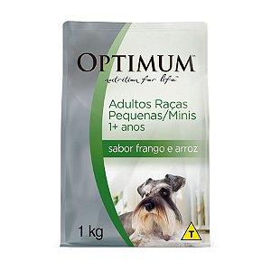 Optimum Cães Raças Pequenas Frango e Arroz 1kg