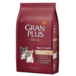 Gran Plus Cães - Mini Filhotes - Frango e Arroz 1kg