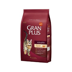 Gran Plus Gatos Adultos - Salmão e Arroz 1kg