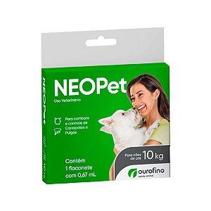 Antipulgas e Carrapatos Neopet 0,67ml Cães até 10Kg
