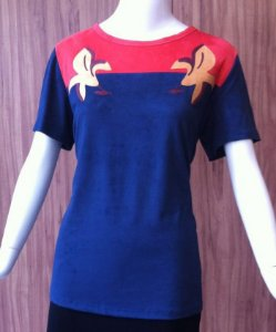 T-SHIRT DUO COLOR MARIA VALENTINA