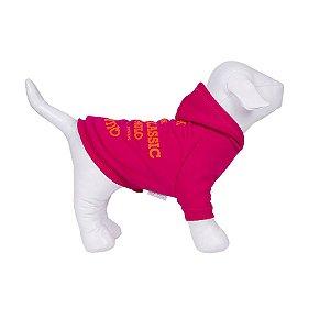 Moletom Para Cachorro Woof Classic High Pink 14