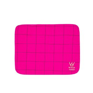 Jogo Americano Woof Classic Lazzy Grid Pink