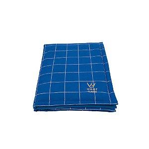 Edredom Para Cachorro Woof Pet Lazzy Grid Azul