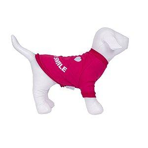 Moletom Para Cachorro Woof Classic Always Smile Pink