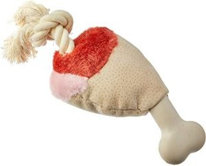Brinquedo Para Cachorro Pelúcia AFP Coxa de Frango