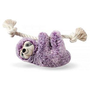 Brinquedo Para Cachorro Pelúcia Preguicinha Violet