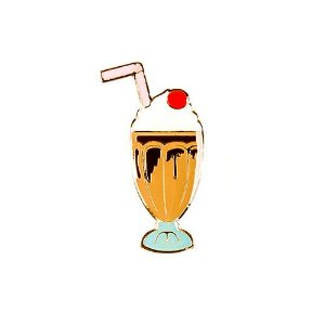 Pin Esmaltado Summer Party - Milk Shake/Chocolate