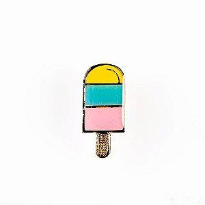 Pin Esmaltado Summer Party - Picolé/Colorido
