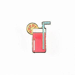 Pin Esmaltado Summer Party - Refresco/Rosa