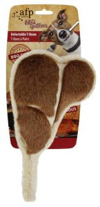 Brinquedo de Bisteca com Aroma BBQ Delectable T-bone