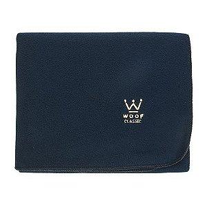 Cobertor Microsoft Crochê Marinho Woof Classic