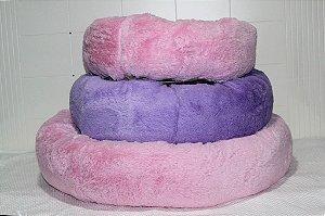 Cama Donuts Rosa Maristela Moda Pet