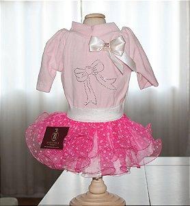 Vestido para Cachorro Maristela Moda Pet Princess