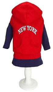 Moletom  New York Vermelho