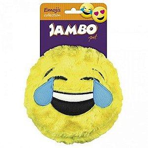Brinquedo de Pelúcia Smile Emoji LágrimasJambo Pet