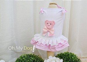 Vestido para Cachorro Oh My Dog  Ursa com Pedrarias