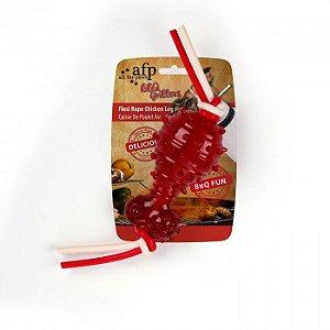 Brinquedo com Aroma de Frango Flexi Rope Chicken Afp