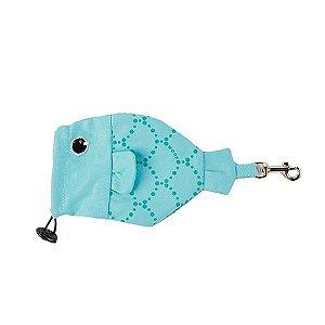 Porta Saquinho Woof Classic - Deep Tiffany II