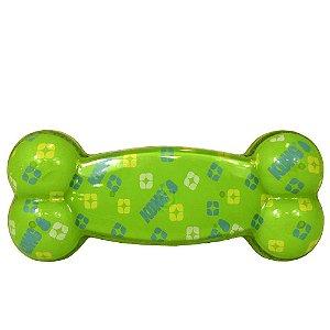 Brinquedo Kong Xpressions Bone para Cães Verde
