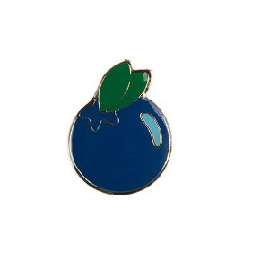 Pin Esmaltado Woof Classic Blueberry PicNic
