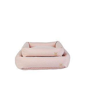 Cama para Cachorro Woof Classic Rosa Bebê