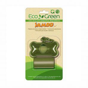 Eco Green Kit Porta Saquinhos Cata Cáca