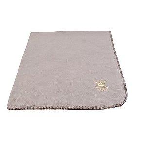 Cobertor Microsoft Crochê Cinza Woof Classic