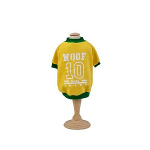 Moletom Copa para cachorro Woof Classic Amarelo