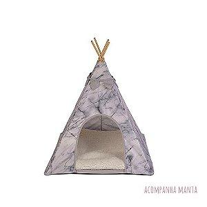 Cabana para Cachorro Apache Woof Classic Empire Cinza