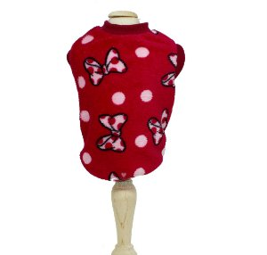 Pijama para Cachorro em Microfibra Malloo Laços