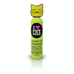 Pet Head Cat De Shed Me!! Shampoo para Queda de Pêlos