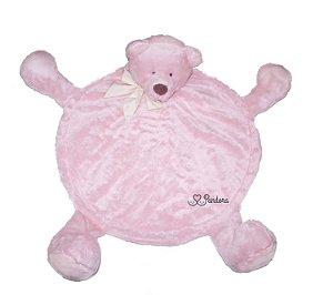 Tapete Urso para Pet Rosa