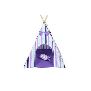 Cabana para Cachorro Apache Woof Classic Ice Land Lilás