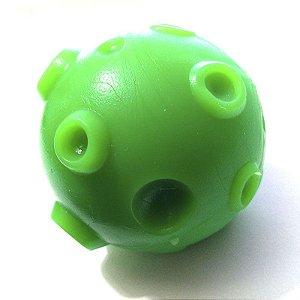 Brinquedo Mordedor Nogs Pet Bolinha Asteróide Verde