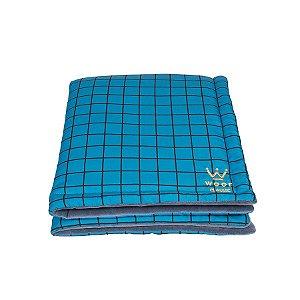 Edredom para Cachorro Woof Pet Forest Azul
