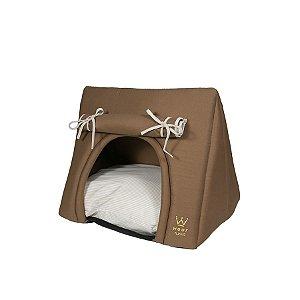 Cabana Camping para Cachorro Woof Classic Sweet Dreams Taupe