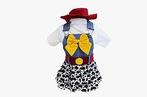 Jardineira para Cachorro Jessie Toy Story