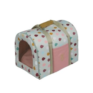 Bolsa de Transporte Pet Woof Classic Sweet Dreams Rosê