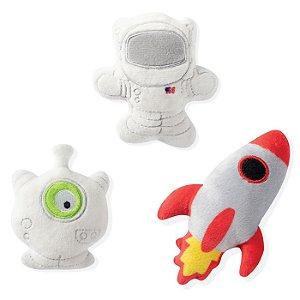 Brinquedo para Cachorro Mini Pelúcias Space