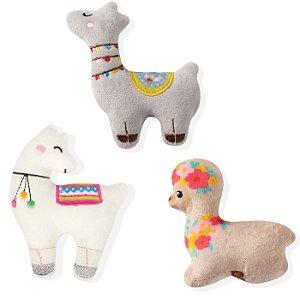 Brinquedo para Cachorro Mini Pelúcias Lhama Love