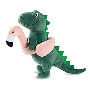 Brinquedo para Cachorro Pelúcia T-Rex Pool Time