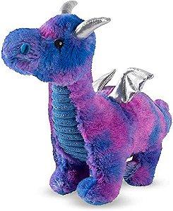 Brinquedo para Cachorro Pelúcia Dragon Blue