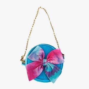 Bolsa Para Cachorro Tie Dye Azul
