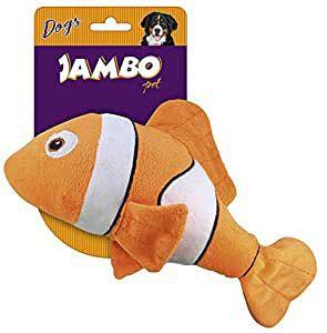 Brinquedo Para Cachorro Pelúcia Peixe Nemo Jambo