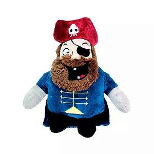 Brinquedo Para Cachorro Pelúcia Pirata Jambo