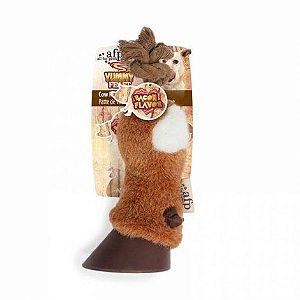 Brinquedo para Cachorro AFP Pelúcia Pé de Vaca