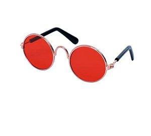 Óculos de Sol para Cachorro e Gato Vermelho