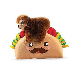 Brinquedo para Cachorro Pelúcia Preguiça Taco