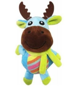 Brinquedo para Cachorro Pelúcia Burrico Colorido